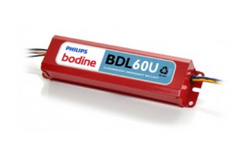 BDL60U (replaces B60U) Bodine Emergency Damp Location Lighting Ballast