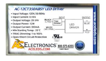 AC Electronics AC-12CT350ABSY LED Driver