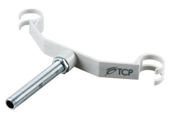13818BCFT TCP Bent Wing Bracket with Threaded Rod for T6 Circline Lamps