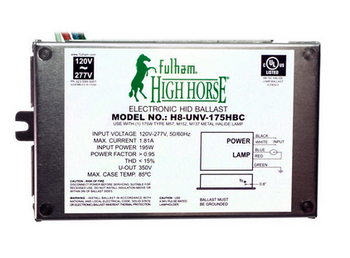 H8-UNV-175HBC Fulham HighHorse eHID Ballast - Bottom Leads