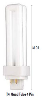 CF13DD/E/841/ECO Sylvania 20667 CFL Tube Lamp