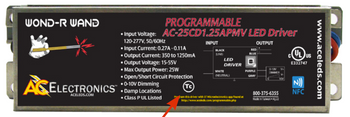 AC Electronics AC-25CD1.25APMV Programmable LED Driver
