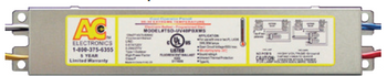 TSD-UV40PBXMS AC Electronics - 36/39/40 Watt PLL/Biax Ballast