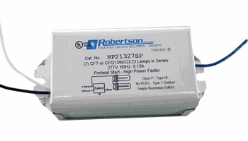 HP21327SP Robertson Ballasts 277V - Side Exit Leads