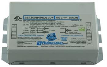 PSP2GPH40HOIVDW Robertson UV Germicidal Ballast