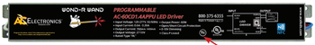 AC Electronics AC-60CD1.4APPU Programmable LED Driver