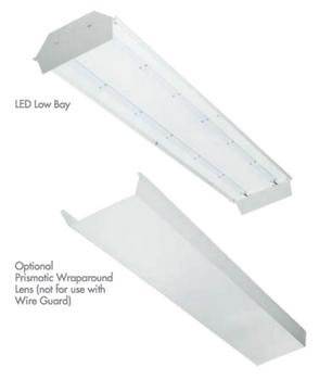 TCP LED 85 Watt 4 foot Low Bay Fixture