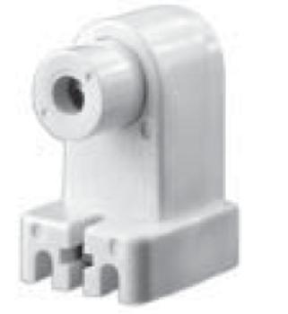 Slimline Single Pin Sockets - Screw-on Spring