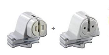 T8 to T5 Conversion G5 Mini Bi-Pin Socket Set - Pair