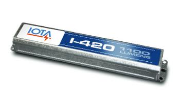 I-420-EM-B IOTA Compact Emergency Lighting Battery Pack Ballast