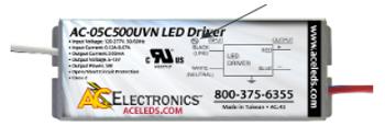 AC Electronics AC-05C500UVN LED Driver