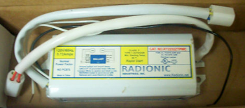 RT2232ZTP-WC Magnetic Circline Ballast for 22W + 32W Circline Lamps, Lampholders Attached