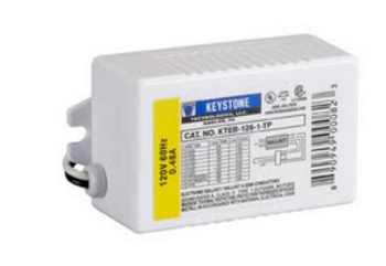 KTEB-126-1-TP Keystone Electronic Ballast for 26W CFL