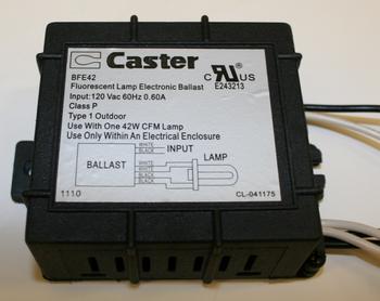BFE42 Caster Fluorescent Ballast