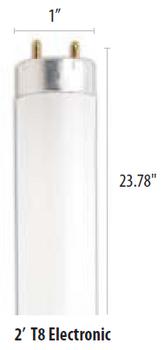 """F17T8/841 24"""" Cool White, Medium Bi-pin Base"""