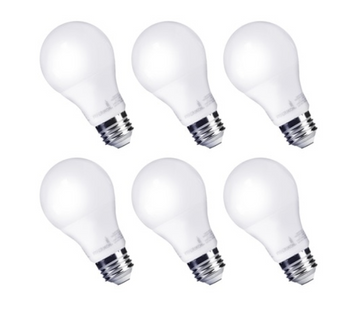 A19 9W (60W Equivalent) Hyperikon Non-Dimming LED Bulb - 6 Pack