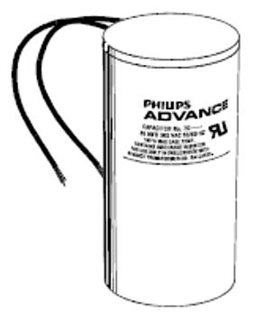 7C175M30RA Phillips Advance 17.5 MFD 300V