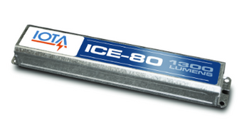 ICE-80 IOTA Cold Weather - Outdoor Egress Emergency Battery Pack