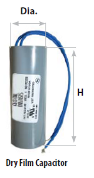 CAP/MH175/DRY 175 Watt Metal Halide Capacitor