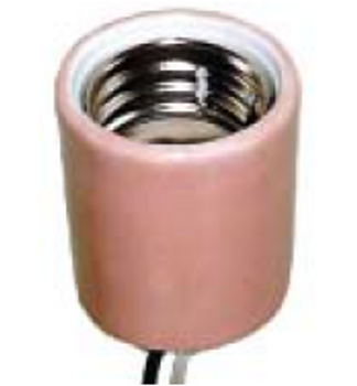 E39 Mogul Base Socket with Leads - Open Rated Socket