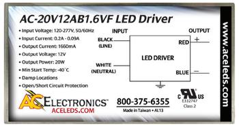 AC Electronics AC-20V12AB1.6VF LED Driver