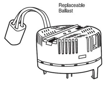 12522Q (EC2T-22 HPF)  TCP 22W Hardwire Circline Snap-in Ballast