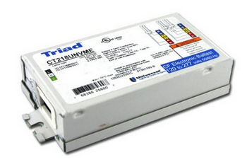 CT218UNVME Universal Triad Electronic Ballast - FT18W/2G11