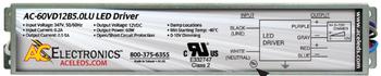 AC Electronics AC-60VD12B5.0LU LED Driver