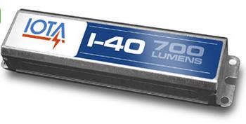 I-40 IOTA Emergency Lighting Battery Pack Ballast