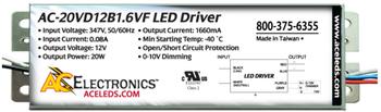 AC Electronics AC-20VD12B1.6VF LED Driver