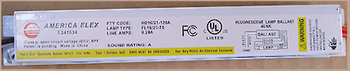 HD16/21 Electronic T5 Fluorescent Ballast - F8T5 / F13T5 Lamp Combinations
