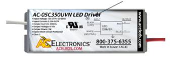 AC Electronics AC-05C350UVN LED Driver