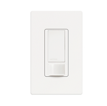 Lutron Maestro MS-OPS6M2-DV-WH Occupancy Sensor with Wallplate