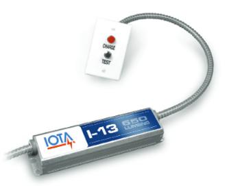 I-13-EM-A IOTA Compact Emergency Lighting Battery Pack Ballast