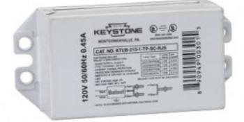 KTEB-213-1-TP-SC Keystone Ballast - Slim Case