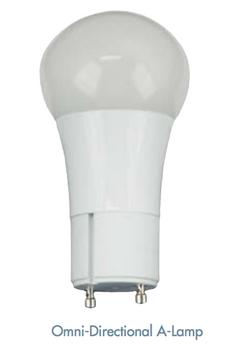 TCP 10 Watt GU10 OmniDirectional A19 LED Lamps