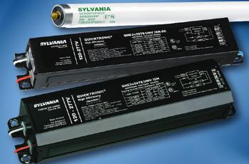 QHE 2x59T8/UNV ISH Sylvania 49879 Fluorescent Ballast