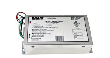 EL150WMHSLF Damar (38661A) Metal Halide eHID Electronic Ballast