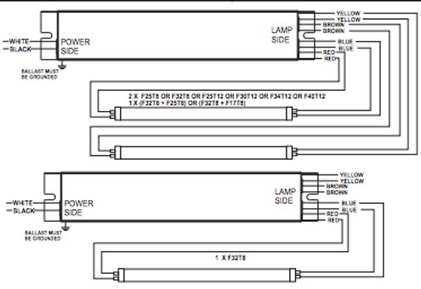 npy 120 232 lt8 fulham pony ballast rh ballastshop com 2002 Workhorse Chassis Wiring Diagram 2002 Workhorse Ground Wiring Diagram