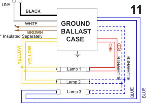 allanson 472 at magnetic sign ballast 16 to 24 feet total length rh ballastshop com allanson sign ballast wiring diagram