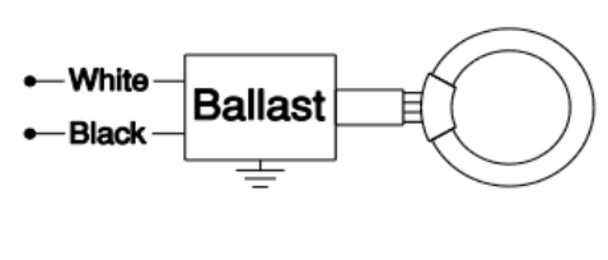 rso140c120ws robertson circline ballast with socket connector rh ballastshop com 3-Way Switch Wiring Diagram Basic Electrical Wiring Diagrams