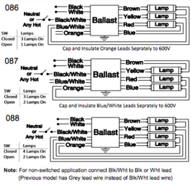t5ho ballast wiring diagram wire center u2022 rh insurapro co 4 Lamp Ballast Wiring Diagram Light Ballast Wiring Diagram