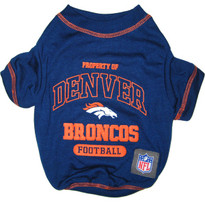Denver Broncos NFL Football Pet T-Shirt