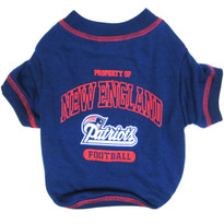 New England Patriots NFL Football Pet T-Shirt