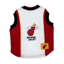Miami Heat Mesh Pet Jersey