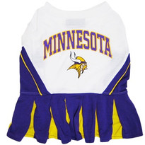 Minnesota Vikings NFL Football Pet Cheerleader Outfit