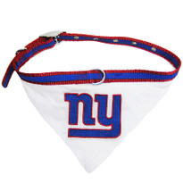 NY Giants Bandana Dog Collar
