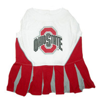 Ohio State Buckeyes Dog Cheerleader Outfit