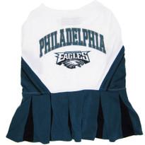 Philadelphia Eagles NFL Football Pet Cheerleader Outfit