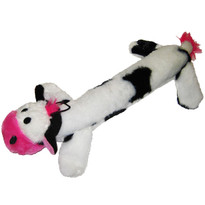Plush Cow Large Squeaker Dog Toy